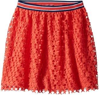 Tommy Hilfiger Star Crochet Lace Skirt Girl's Skirt