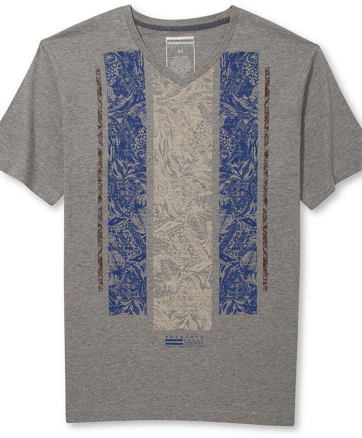 Sean John Big & Tall Tropic Thunder T-Shirt