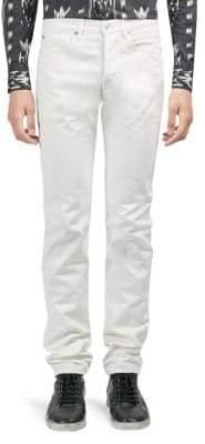 Saint Laurent Cotton Skinny Fit Jeans