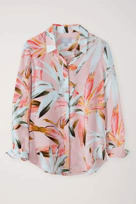94bf9b17326b9e Next Womens Pure Collection Relaxed Washed Silk Blouse
