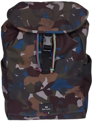 Paul Smith (ポール スミス) - Paul Smith Flap Camo Backpack