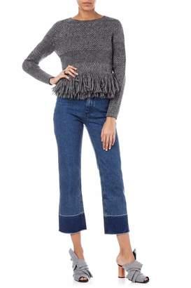 Rachel Comey Fringe Crewneck Pullover