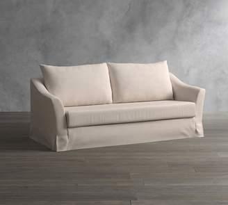 Pottery Barn SoMa Brady Slope Arm Slipcovered Sleeper Sofa