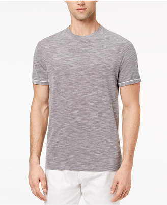 Ryan Seacrest Distinction Men's Slim-Fit Gray Heathered T-Shirt, Created for Macy's
