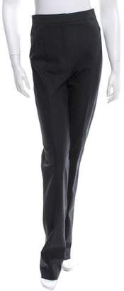 Narciso Rodriguez High-Rise Straight-Leg Pants