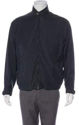 Loro Piana Layered Roadster Short Zip Jacket Layered Roadster Short Zip Jacket