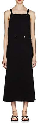 Jil Sander Women's Double-Breasted Sleeveless Dress - Black
