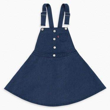 Levi's Little Girls 4-6x Overall Dress 6X