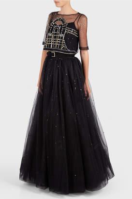 Temperley London Cannes Long Skirt