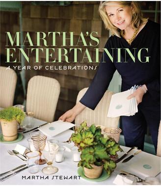 Penguin Random House Martha's Entertaining By Martha Stewart