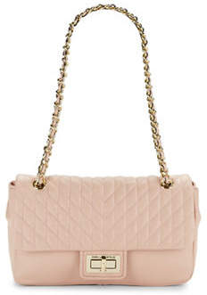 Karl Lagerfeld PARIS Agyness Leather Handbag