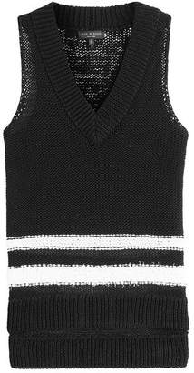 Rag & Bone Cotton Knit Halter Top