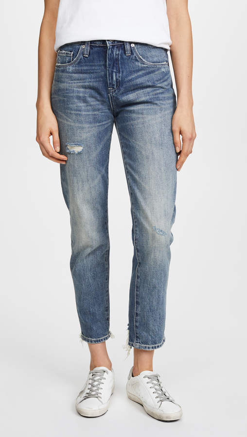 The Outsider High Rise Tapered Jeans