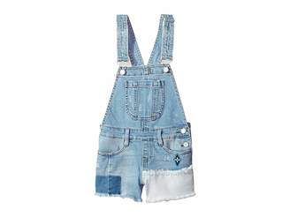 Blank NYC Kids Denim Overalls in Down The Shore (Big Kids)