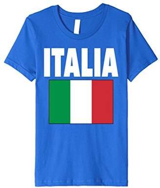 ITALIA Italian Italy Color Flag T-shirt 2016 Futbol Rugy