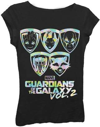 Freeze Guardians of the Galaxy Vol. 2 Tee (Big Girls)