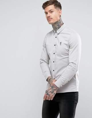 Religion Slim Fit Shirt With Stretch