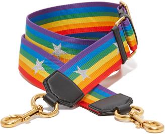 Marc Jacobs Rainbow Handbag Strap With Stars $85 thestylecure.com