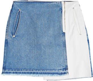 Sjyp Denim Skirt