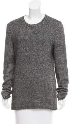 Lucien Pellat-Finet Cashmere & Silk-Blend Crew Neck Sweater