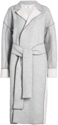 Victoria Victoria Beckham Wool Coat with Belt