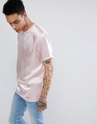 Discount Explore Popular Online DESIGN relaxed t-shirt with ill do it later embroidery - Pink Asos Buy Cheap Extremely 654eJjw