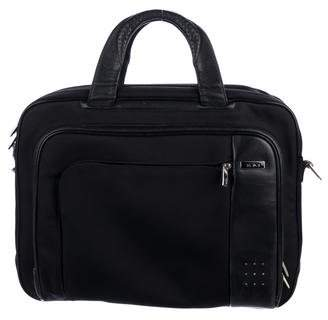 Tumi Leather-Trimmed Briefcase