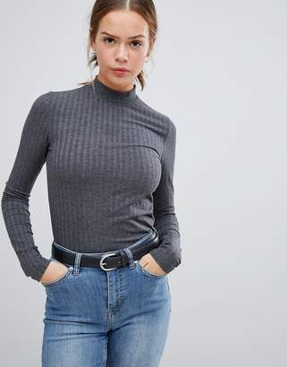 Pieces Amy turtleneck long sleeved top