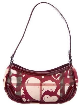 Burberry Painted Hearts Nova Check Bag