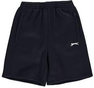 Slazenger Kids Flc Short Juniors Fleece Shorts Pants Trousers Bottoms