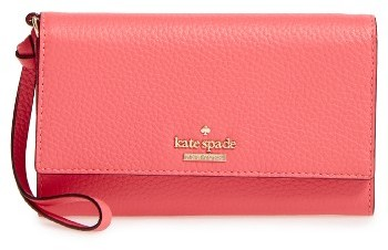Kate Spade Women's Kate Spade New York Jackson Street Malorie Leather Wallet - Red