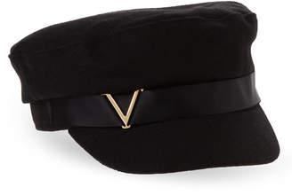 Vince Camuto Hardware Logo Military Cap