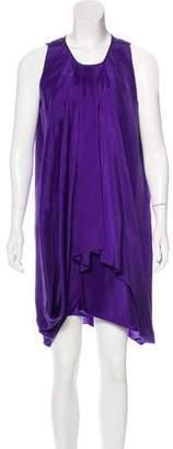 Proenza Schouler Silk Draped Dress