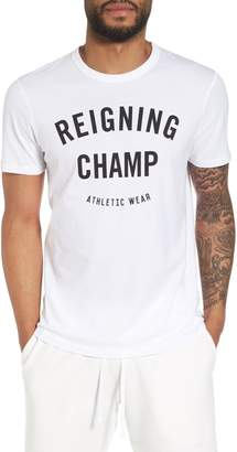 Reigning Champ Gym Logo T-Shirt