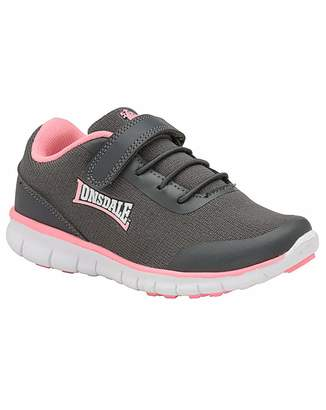 Lonsdale London Capella rip tape kids trainers