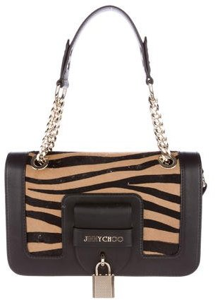 Jimmy Choo Jimmy Choo Gwen Ponyhair Shoulder Bag