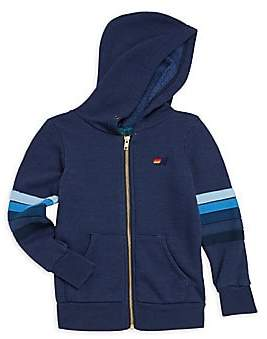 Aviator Nation Little Boy's and Boy's Smiley Patch Zip Hoodie