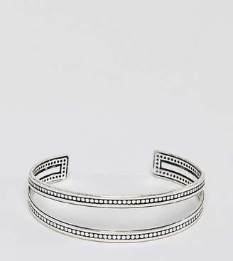 Sacred Hawk bracelet with metal detail