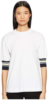 Sportmax Runway Struzzo Short Sleeve Top