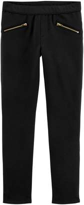 Osh Kosh Oshkosh Bgosh Girls 4-12 Solid French Terry Jeggings