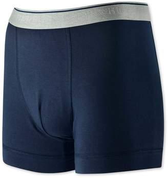 Charles Tyrwhitt Navy Cotton Stretch Jersey Trunks Size XL