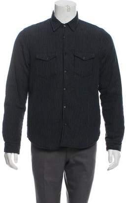 Barneys New York Barney's New York Reversible Wool Jacket