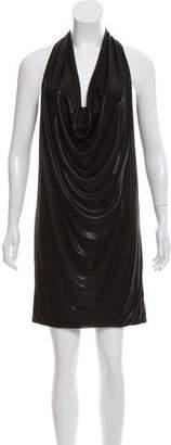 Diane von Furstenberg Cowl Neck Mini Dress