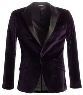 Dolce & Gabbana Regular-Fit Velvet Dinner Jacket