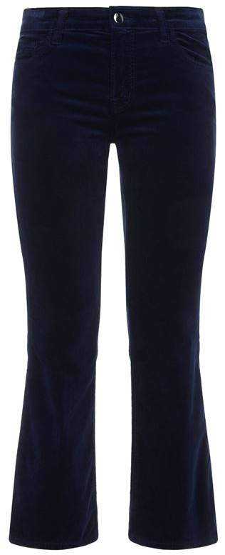 Selena Mid Rise Cropped Jeans