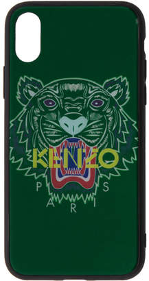 Kenzo Green Tiger iPhone X Case