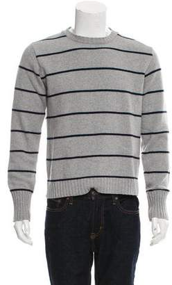 Officine Generale Striped Cashmere Sweater