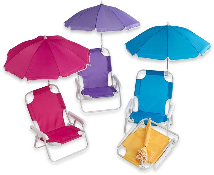 Bed Bath & Beyond Baby Beach Chair with Umbrella