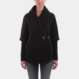 Line Harlow Ribbed Sleeve Coat