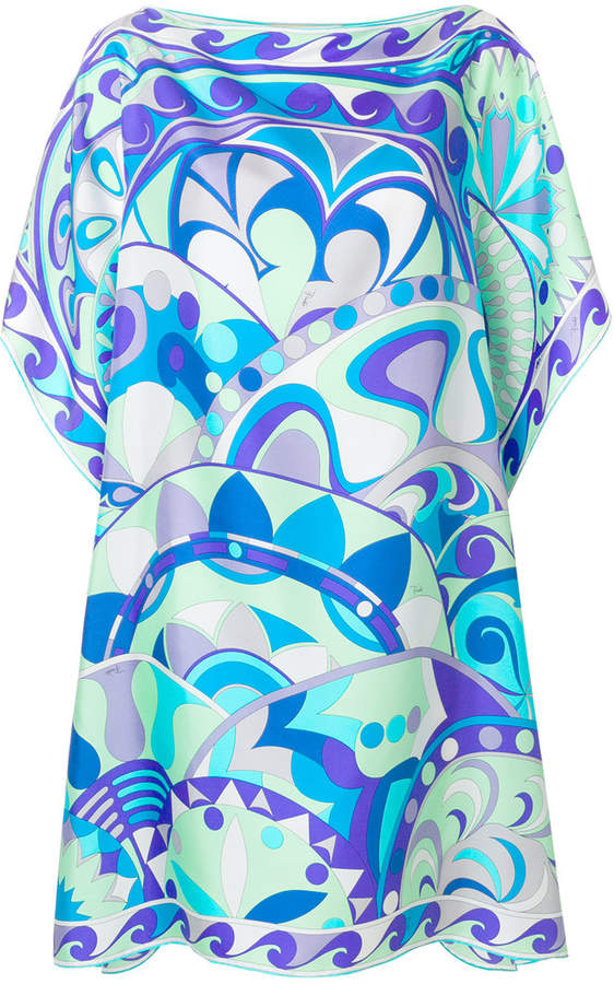 Emilio Pucci printed kaftan dress